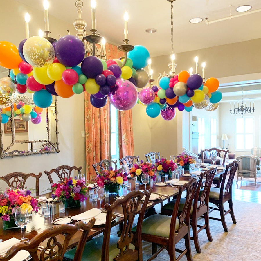balloon decoration for special