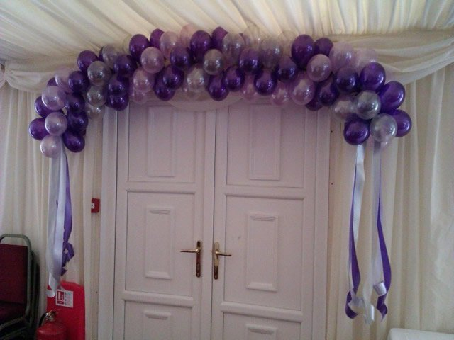 Balloon Arches and Cloud 9s