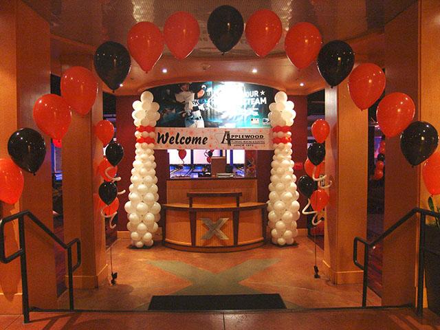 bowling decorations  BalloonDeliveryDenvercom