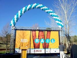 RTD balloons W rail
