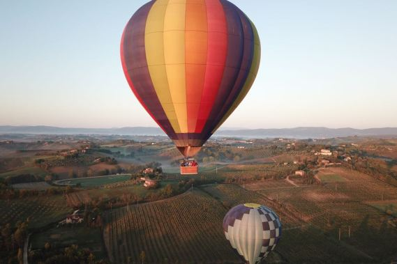VOUCHER - Hot air balloon flight over Chianti   ̶2̶5̶0̶ 230€