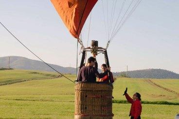 Volo in mongolfiera esclusivo per 2 persone