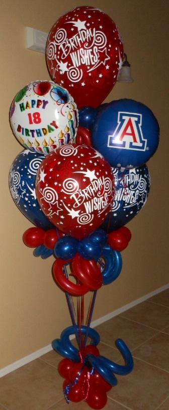 The Balloon Lady Tucsons Premier Decorator