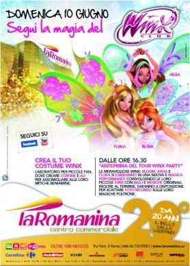 WINX @Centro Commerciale LA ROMANINA