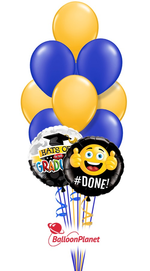 graduation balloon bouquets delivery