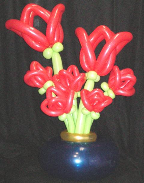 Flower Tulip Twisting Balloon
