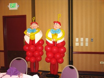 tweedle dee and dum from alice in wonderland 2