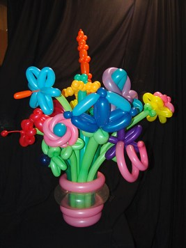 Exotic Balloon Flowers