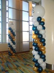 Custom topped balloon columns2