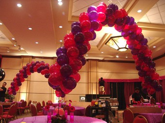 batmitzvah balloons