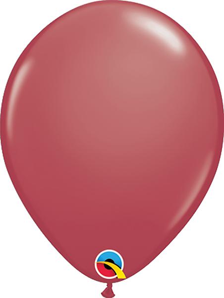 11 Inch Sparkling Burgundy Latex Balloons 100pk  Balloonscom