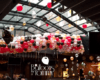Balloon drop and light ceiling fill at Fremont Chicago NYE 2017 - Balloons by Tommy