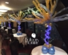 Light up balloon centerpieces at the Signature Room Chicago - Balloons by Tommy