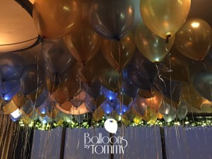 Balloons by Tommy - Balloon ceiling fill with lights