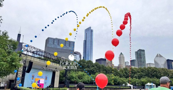 PokémonGo Fest Chicago 2017 - Balloons by Tommy