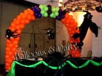 Halloween Balloon Decorations   Party Favors Ideas