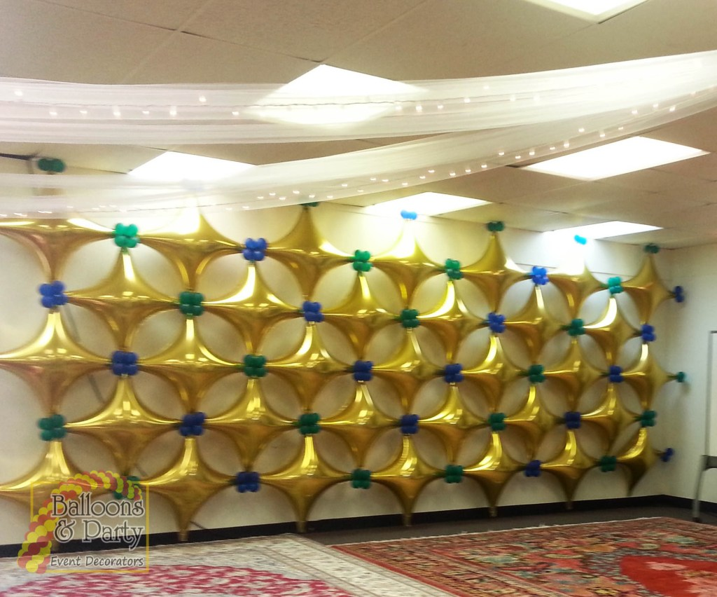 Starpoint Foil Balloon Wall - Balloons & Party Decorations