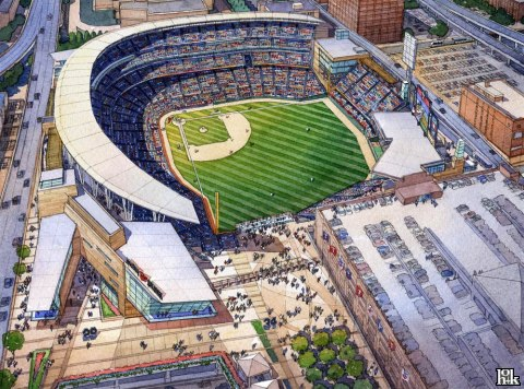 new Twin stadium will be heated and cooled with steam