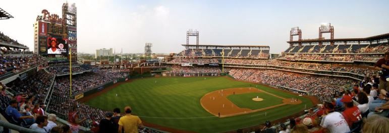Panorama of Citizens Bank Park