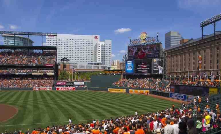 Day Shot of Oriole Park