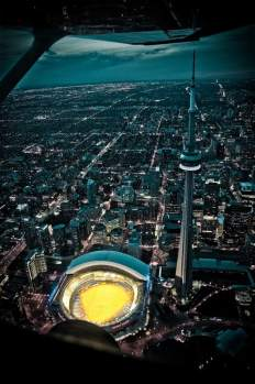 Sky View of Rogers Centre