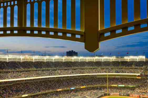 Inside Facade at Yankee Stadium