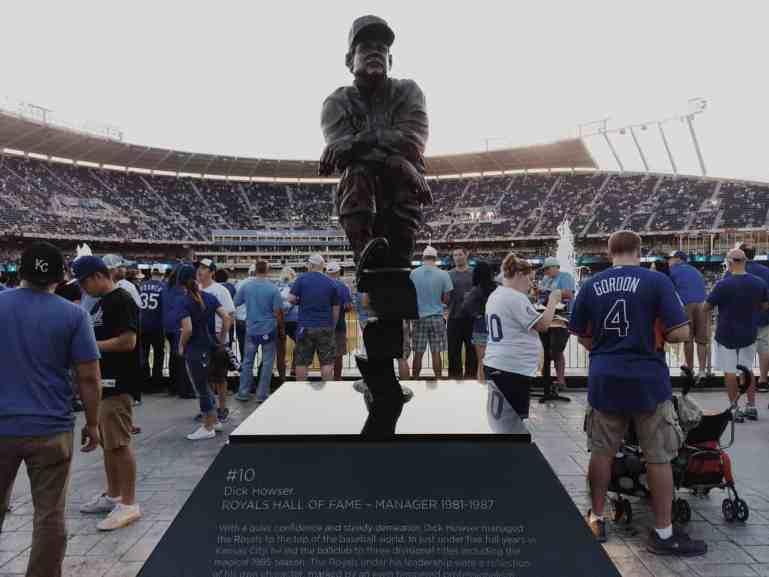 Howler Statue at Kauffman Stadium