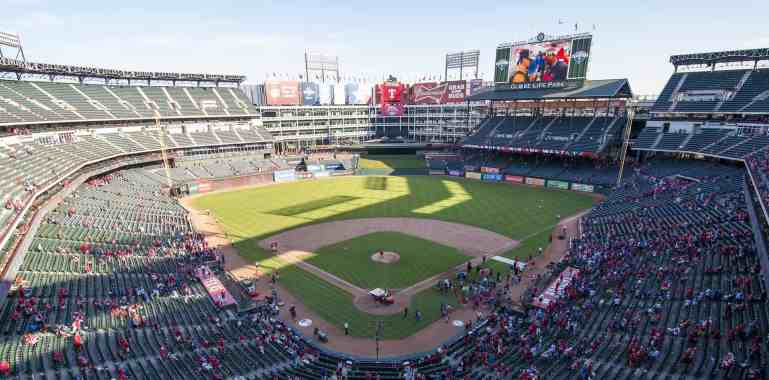 Open Seats at Globe Life Park