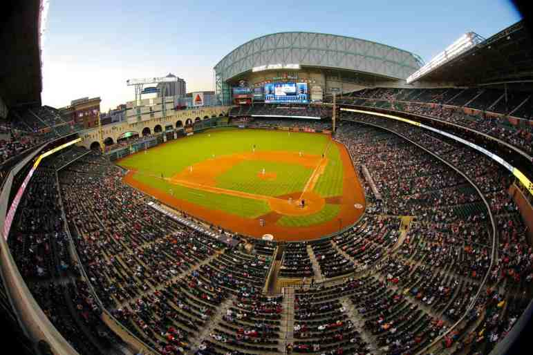 Open View of Minute Maid Park