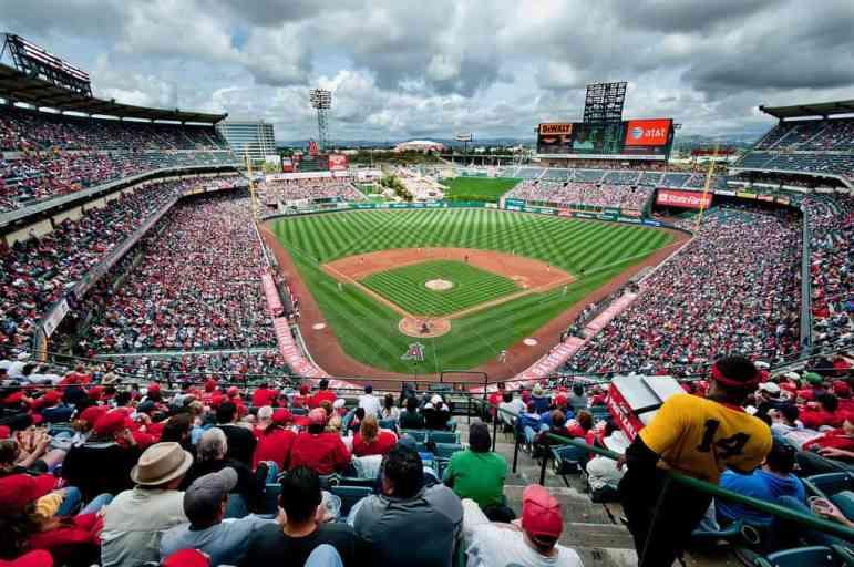 Large View of Angel Stadium