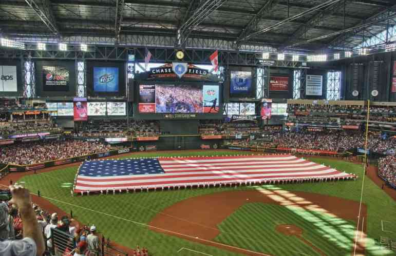 View of Chase Field