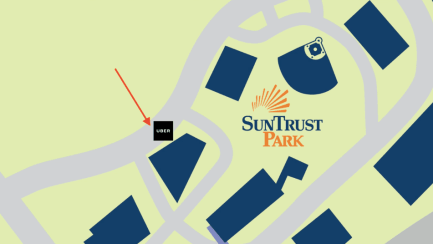 Uber for Suntrust Park