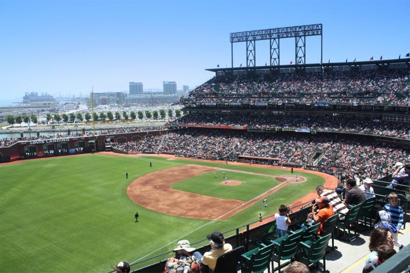 ATT Park San Francisco Giants ballpark  Ballparks of