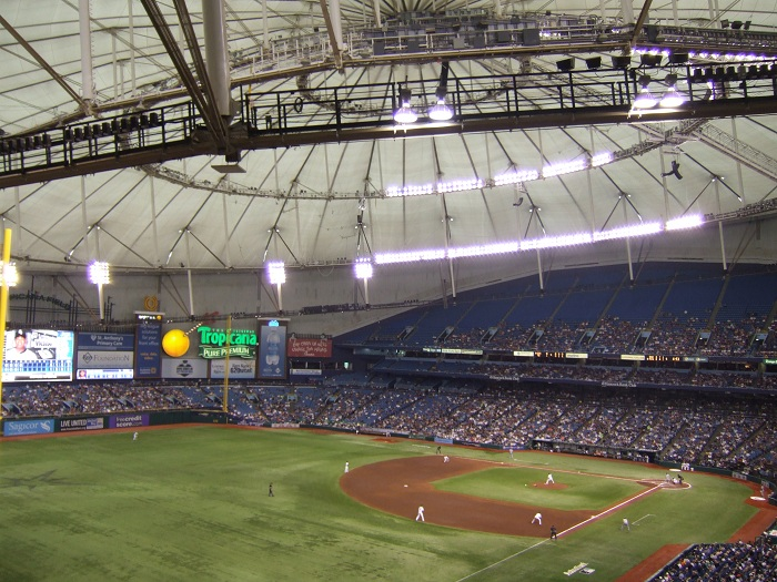 Image result for photos of tropicana field