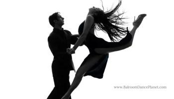 Red Ladies Ballroom Dance Shoes