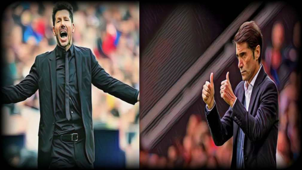 Simeone and Marcelino - respective mangers