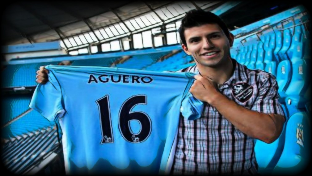 Aguero Signed from Atletico Madrid