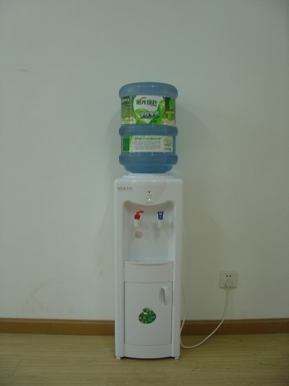 Our very own water dispenser!
