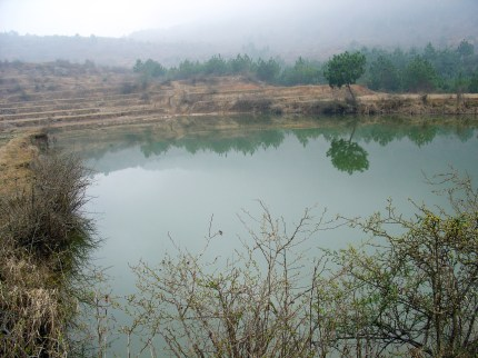 A small lake on the hill 2