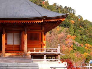 A small temple on Mount Hiei.