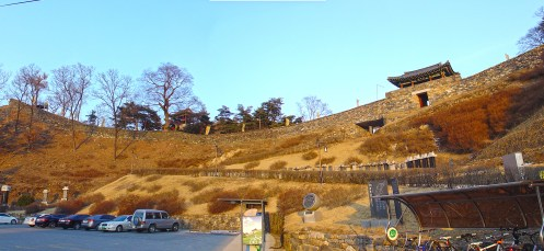 Gongsanseong (공산성) - The castle in Gongju (공주)