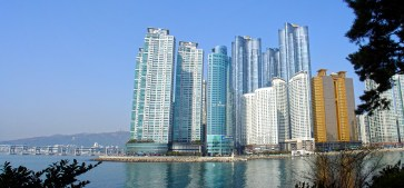Busan (부산) - Skyscrapers at the sea