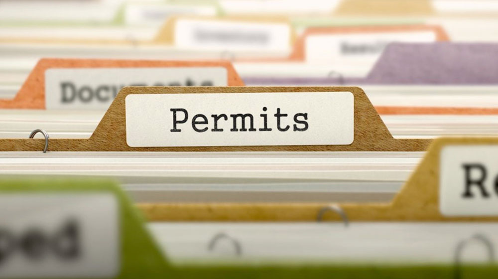 Right-Of-Way Permits Required To Work