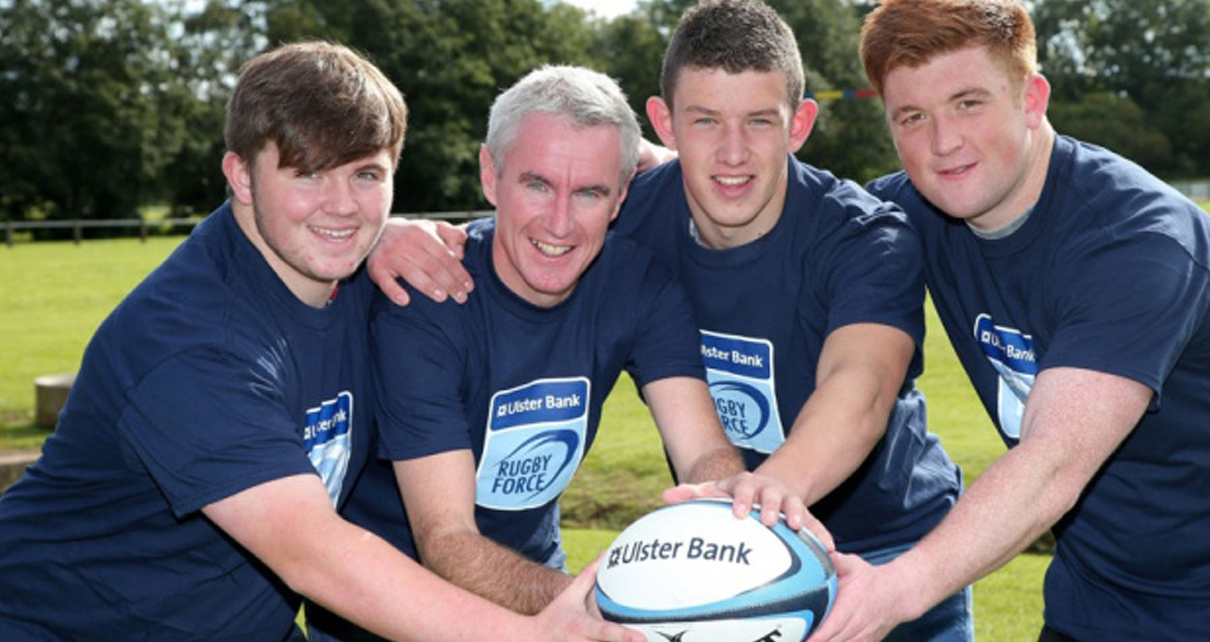 OLDEST ENTRY Ulster Bank Rugby Force Winners