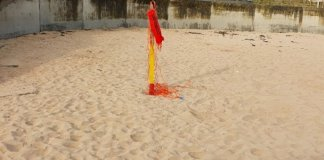 lifesaving-equipment-damaged-at-east-strand-beach