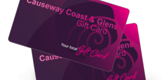 #shopeatenjoylocal-with-the-causeway-coast-&-glens-gift-card​