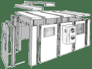 Bally Freezer Doors & WalkIn (Interior)