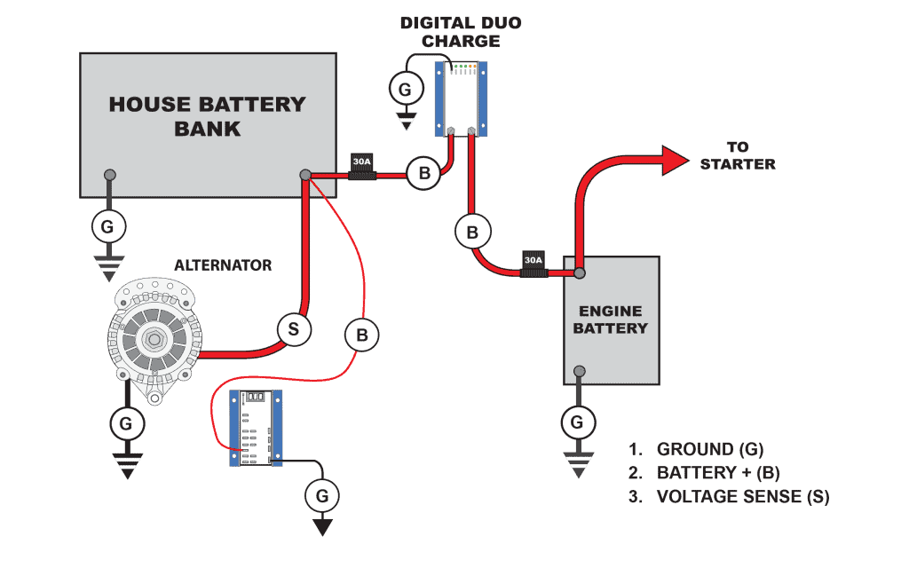 Leece Neville External Voltage Regulator Wiring Diagram