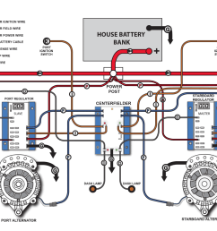 centerfielder ii balmar toyota forklift alternator wiring diagram balmar alternator wiring diagram [ 1219 x 884 Pixel ]
