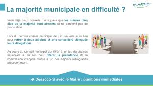BalmAvenir - Conseil municipal du 15 septembre 2016 - Diapo 2